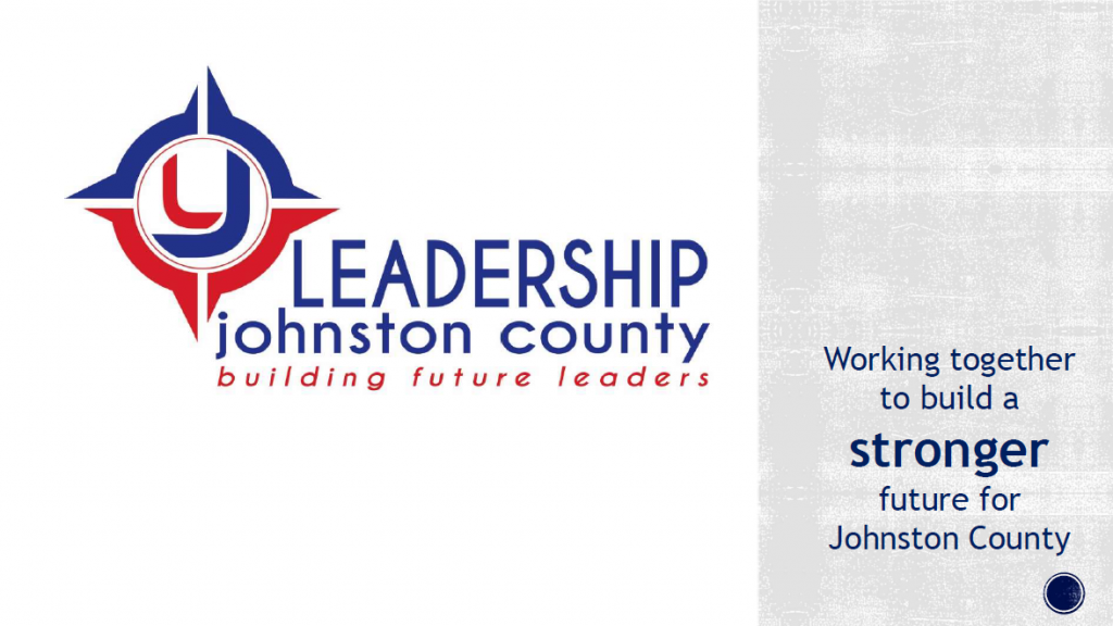 Leadership Johnston PowerPoint Cover